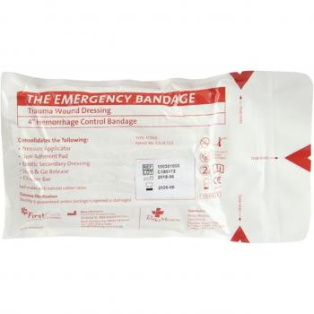 Emergency Bandage | Israeli | Weiß - zivile Version | 10cm x 4,5m