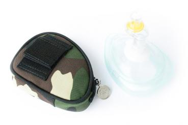 Laerdal Pocket Mask in Softtasche | Camouflage