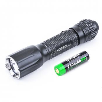 NEXTORCH TA15 Tactical Backup LED Taschenlampe | 600 Lumen