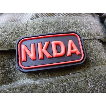 NKDA - No Known Drug Allergies - Patch, blackmedic | JTG 3D Rubber patch