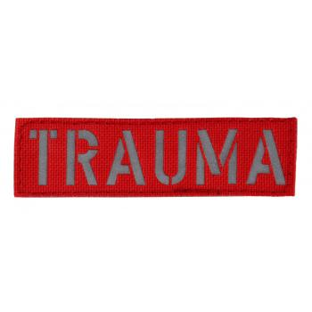 TRAUMA Patch I Farbe: Rot