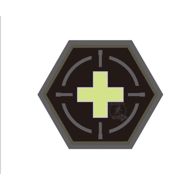 Tactical Medic Patch | Hexagon Patch | gid | JTG 3D Rubber Patch
