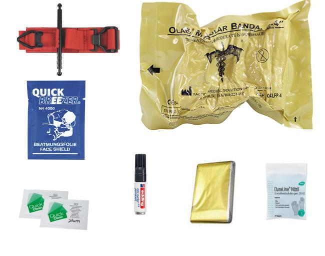 STOP THE BLEED - Basic-Trauma-Kit Zivil | SOFTT-W & OLAES