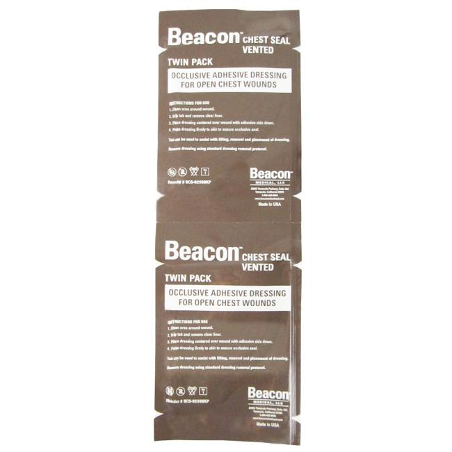 Beacon™ Chest Seal Vented | Twin Pack - Thoraxpflaster mit Ventilen
