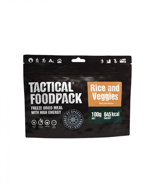 TACTICAL FOODPACK® RICE AND VEGGIES