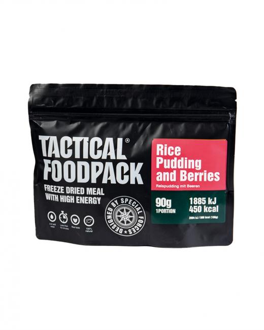 TACTICAL FOODPACK® RICE PUDDING AND BERRIES