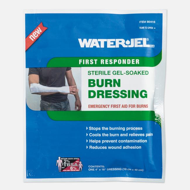 WATER-JEL® HA First Responder Kompressen, steril, 10x40cm